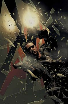 Punisher Cover: Punisher Smashing Marvel Comics Poster - 30 x 46 cm The Punisher Movie, Frank Castle Punisher, Comic Book Artists, Comic Artist, Comic Books Art, Punisher Logo, Punisher Marvel, Punisher Max, Superhero Characters