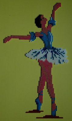 Ballerine hama beads by perleshama30