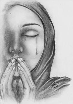 Sad face sketch sad faces crying drawings crying face sketch pencil sketches of Cry Drawing, Crying Girl Drawing, Hijab Drawing, Girl Drawing Sketches, Face Sketch, Girl Sketch, Sad Drawings, Pencil Art Drawings, Cartoon Drawings