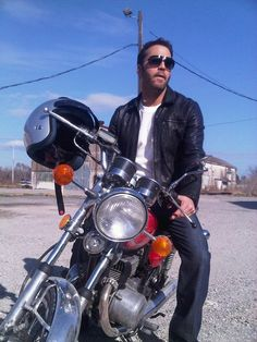 Jeremy Piven rides you should too. #Yamaha