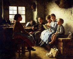 "#FelizDiaDelLibro ""@2013_therese: Rt""@Biagio960: The reading lesson Simon Glücklich (1863 – 1943) - pic.twitter.com/M7ictmOkDr"" Mágico!"""