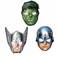 Resultado de imagen para mascaras vengadores