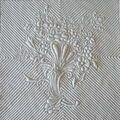 1 bouquet quilt draped