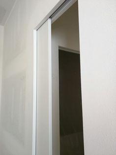 pocket door with no trim