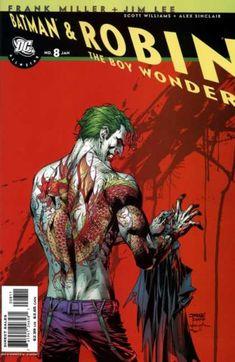 All-Star Batman & Robin... #8  joker  art: Alex Sinclair, Jim Lee
