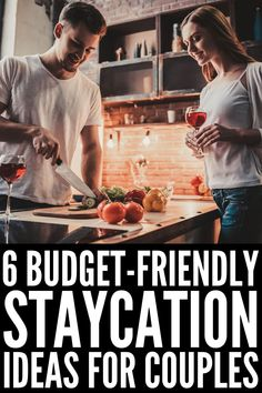 6 Staycation Ideas for Couples | If you're planning a staycation with your significant other, and want a list of things to do to help you connect and have fun together while also squeezing in a little R&R, this post is for you! While a night in a hotel or travel to somewhere on your bucket list may not be in your budget, you can still have a romantic vacation at home. These ideas work in summer and winter, and offer the perfect balance of adventure, fun, romance, and relaxation. Cheap Date Ideas, Cute Date Ideas, Couple Goals, Relationship Blogs, Relationships, Industrial Style Lamps, At Home Dates, At Home Date Nights, Couple Activities