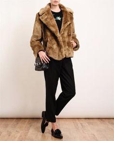 DRIES VAN NOTEN | Rakota Faux Fur Coat | Browns fashion & designer clothes & clothing