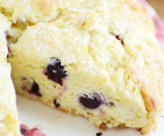 Never-Dry Lemon Blueberry Scones recipe