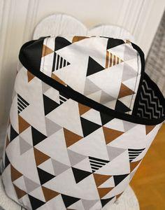 Lady Tattooch Sewing Homemade DIY Bag Box Cosmetic Geometric Blog Blogger Christmass Present Gift