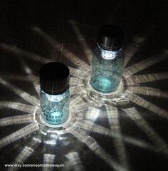 solar mason jars!