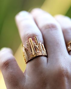Cityscape Ring New York - Cityscape Jewelry by CITIMI