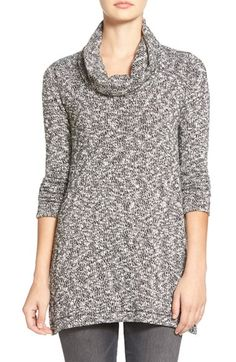 Splendid 'Lake Front' Marled Cowl Neck Sweater available at #Nordstrom