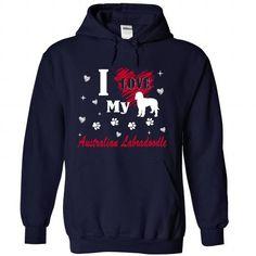 Australian Labradoodle T Shirts, Hoodies. Check price ==► https://www.sunfrog.com/Pets/Australian-Labradoodle-3706-NavyBlue-Hoodie.html?41382 $39