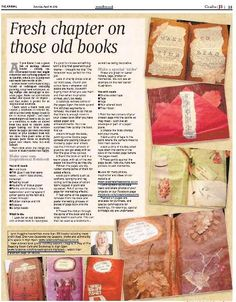 Altered Books - ReVampd Scrap Books, Old Books, Altered Book Art, Books 2016, Handmade Journals, Dear Diary, Any Book, Book Of Shadows, Smash Book