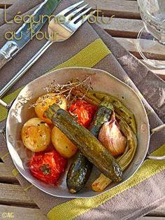 Légumes rôtis au four (courgettes, tomates, pommes de terre, cébettes …) – Méthode de cuisson -