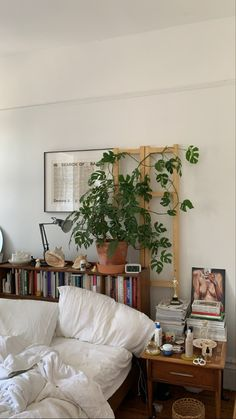 Bedroom Inspo, Home Bedroom, Bedroom Decor, Bedrooms, Best Plants For Bedroom, Pretty Room, Aesthetic Rooms, Home And Deco, Cool Rooms