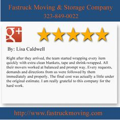 Fastruck Moving & Storage Company 11818 Riverside Dr Ste 118 Valley Village, CA 91607 (323) 849-0022  http://www.fastruckmoving.com/encino-movers/
