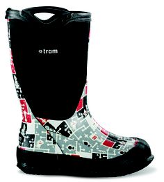 Puddle jumping just got even better with Tram Footwear's Park line of kid's boots. These three-season insulated boots will take your kids from -30 degrees in the winter to spring excursions in the woods. $90, www.tramfootwear.com