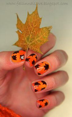 fall #nail #nails #nailart