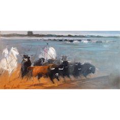 Galerie Art Sud - Troupeau en Camargue