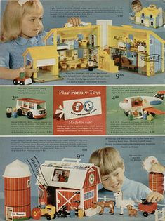 1970 JCPenney Christmas catalog page 254 | I am not the copy… | Flickr 1970s Toys, Retro Toys, Vintage Toys 80s, Vintage Ads, Vintage Posters, Vintage Photos, Fisher Price Toys, Vintage Fisher Price, Christmas Catalogs
