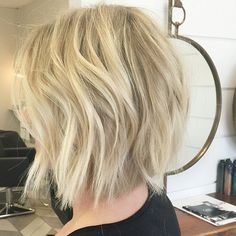 Clear the shoulders is right! Cut by @hairby_chrissy #hair #hairenvy #hairtalk #hairstyles #bob #bluntcut #shorthair #texture #newandnow #inspiration #maneinterest