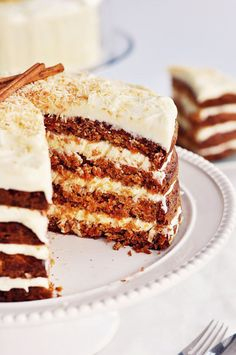 Hawaiian Carrot Cake with Coconut Icing. I have to try making this one!!