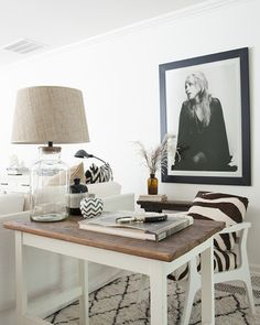 – one – Sherry's house just gets better and better. – two – A pretty new-to-me designer portfolio. – three – This tip for how to adjust IKEA lamp shades to fit other lamps made my week. (Thanks, Lisa!)  – four – A popular blogger looks back on the ups and downs of the …
