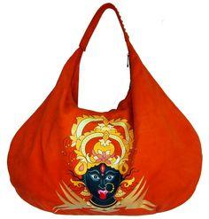 Hobo kali hand bag#hand painted flukedesigncompany #85$#etsy