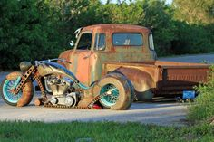 Badass Rat Rods, only thing missin' is the purty m/c girl!                                                                                                                                                                                 More