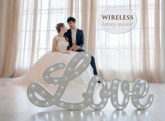 Wedding gift Wedding decor Wedding  Night light Lamp LOVE