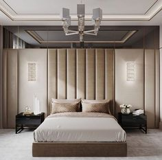 Modern Bedroom Ideas - All the bedroom design ideas you'll ever before require. Discover your style and create your desire bedroom plan regardless of what your budget, design or area size. Modern Bedroom Design, Master Bedroom Design, Modern Interior Design, Bedroom Designs, Contemporary Bedroom, Master Bedrooms, Modern Bed Designs, Interior Ideas, Modern Bedrooms