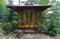 japanese garden tea house | The Japanese Tea House Inner Roji Garden | Miriam's River House ...
