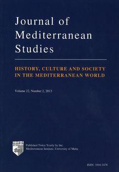 Journal of Mediterranean Studies 2013 02