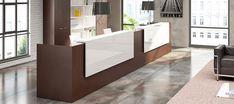 Risultati immagini per reception ufficio design ferro legno