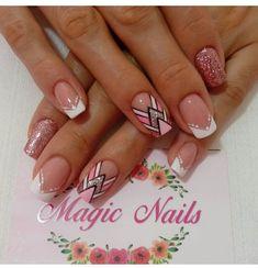 Cute Designs, Nail Art, Tips, Crafts, Gold Nails, Handmade Bags, Decorations, Simple Elegant Nails, Ongles
