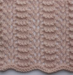 Ridge Feather Stitch