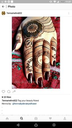 Best Arabic Mehndi Designs 2013-2014 For Hands And Feet | Latest ...