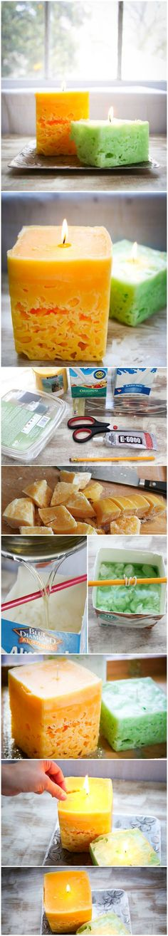 Pinned onto Beautiful DIY Candle Ideas Board in DIY Crafts Category