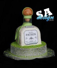 Heineken Beer Bottle Cap Cake D Cakes By Sara Pinterest - Patron birthday cake