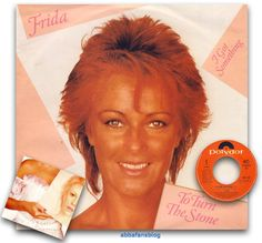 "Frida's single ""To Turn The Stone"" entered the charts in Belgium in October 1982 where it reached number 8...  #Abba #Frida #Vinyl #Belgium http://abbafansblog.blogspot.co.uk/2017/10/charts.html"