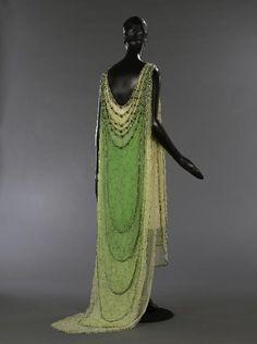Attribué à Madeleine Vionnet  Couturier  1924  Lesage  Brodeur  1924
