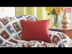 Country Granny Afghan + Tutorial - The Crochet Crowd