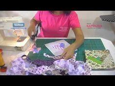 Neste vídeo mostro como eu aproveito meus retalhos para fazer lindas peças utilizando a técnica Crazy.