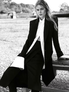 Jess Gold by Nicole Bentley for Marie Claire Australia July 14 #editorial #fashion #style