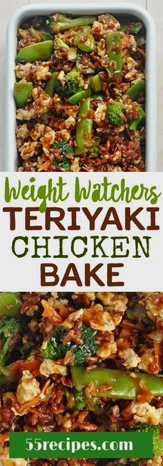 weightwatchers teriyaki chicken chickenbake weight watchers weightlossrecipes lowcarb healthyeating is part of Weight watchers chicken - Weight Watchers Diet, Weight Watcher Dinners, Weight Watchers Chicken, Weight Watcher Recipes, Weight Watchers Success, Weight Watchers Casserole, Weight Watchers Lunches, Skinny Recipes, Ww Recipes