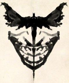 Rorschach: Batman & The Joker (or the Joker?)