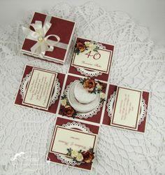 Pudełko na rocznicę ślubu