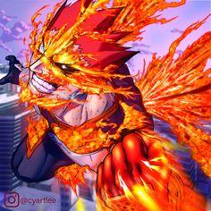 Endeavour , Boku no Hero Academia ,Resolution My Hero Academia Episodes, Hero Academia Characters, My Hero Academia Manga, Super Anime, Anime Episodes, Hero Wallpaper, Trippy Wallpaper, Dark Fantasy Art, Boku No Hero Academy