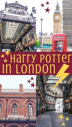 A Harry Potter guide to London- Harry Potter's London- where to go and what to see in London, England!